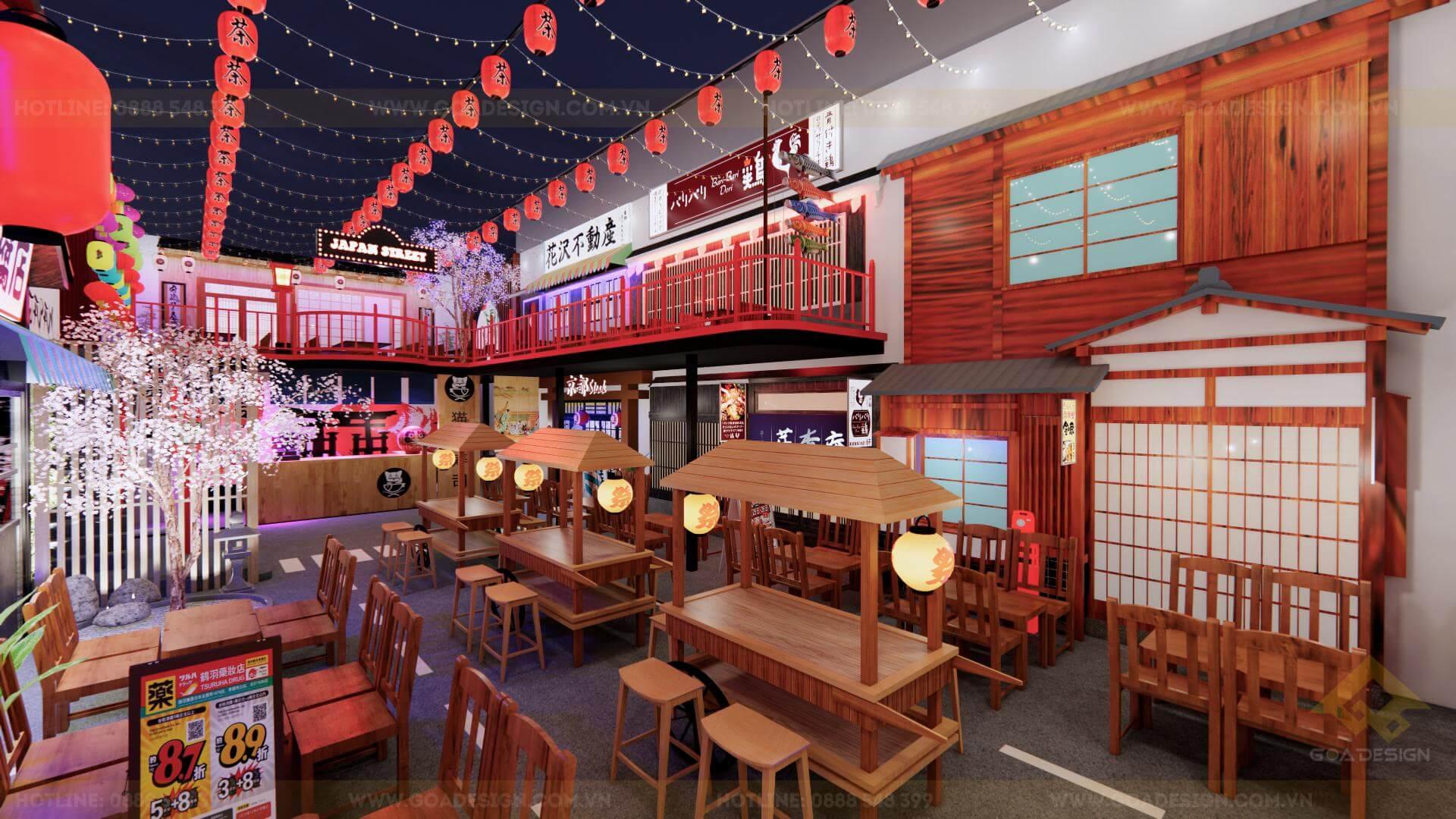 GOADESIGN Tư vấn thiết kế thi công phim trường chụp ảnh-concept Nhật Bản (4)