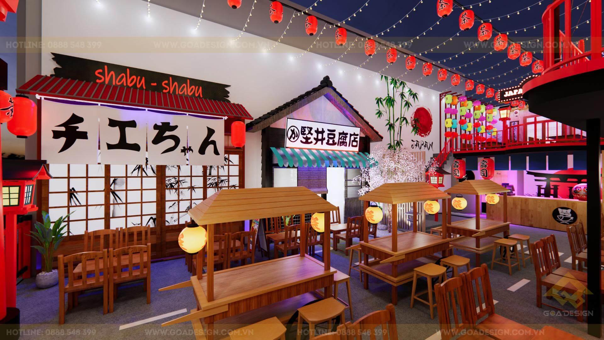 GOADESIGN Tư vấn thiết kế thi công phim trường chụp ảnh-concept Nhật Bản (5)
