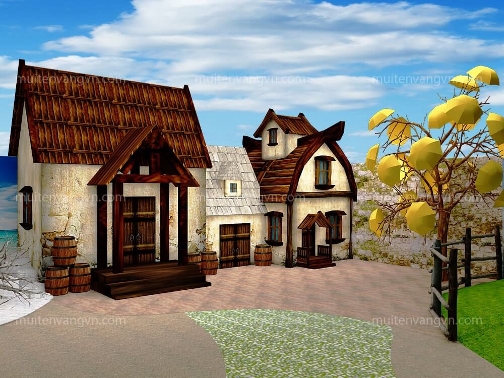 GOADESIGN Thiết Kế Phim Trường Happy House (139)