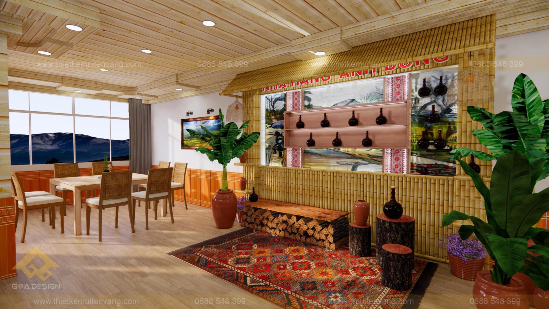 thiết kế nhà nhà hàng sapa 2020 (1)