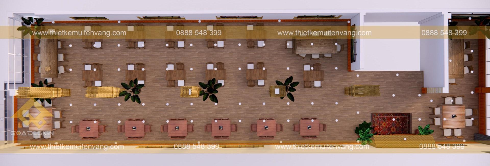 thiết kế nhà nhà hàng sapa 2020 (2)