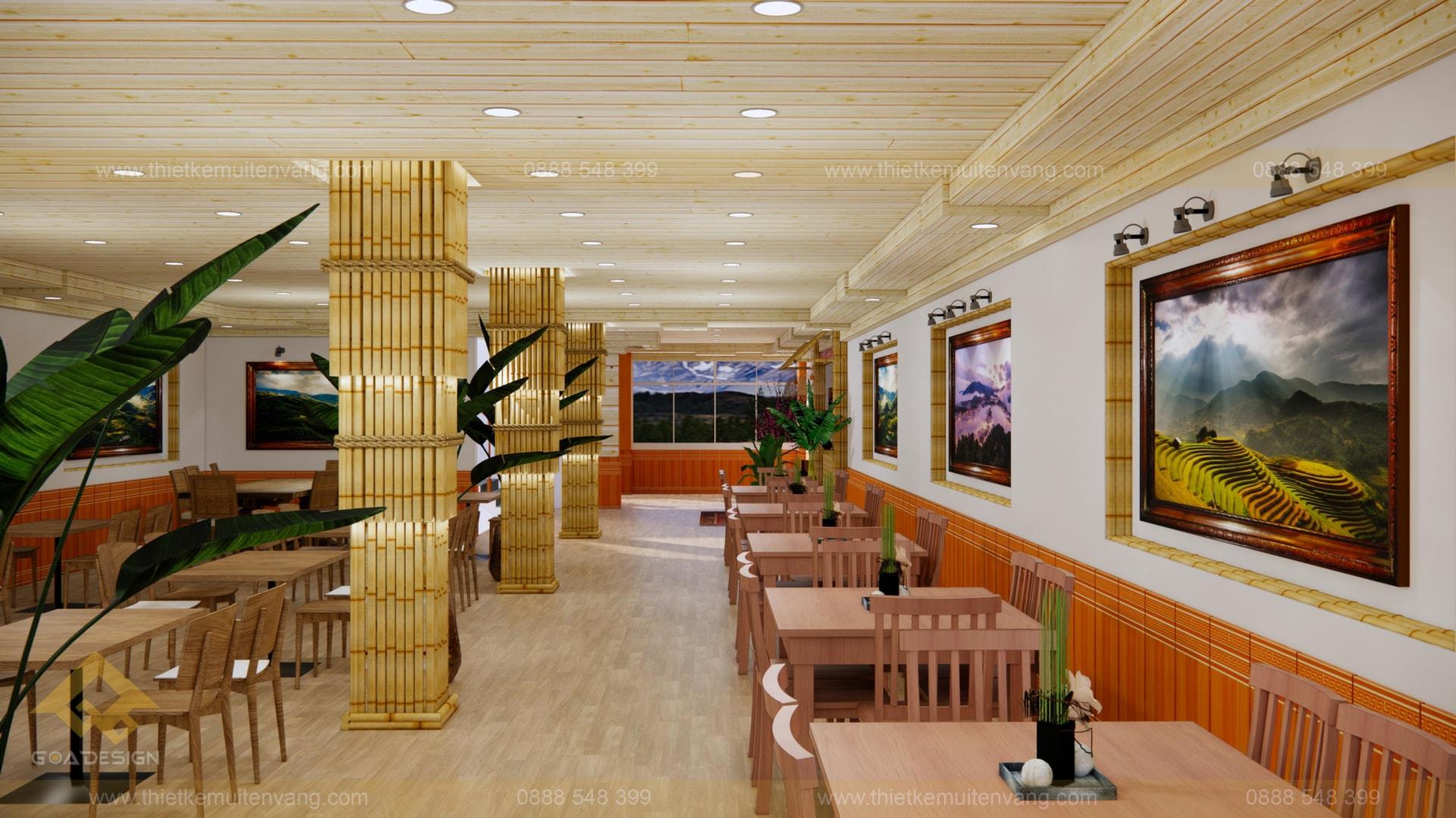 thiết kế nhà nhà hàng sapa 2020 (3)