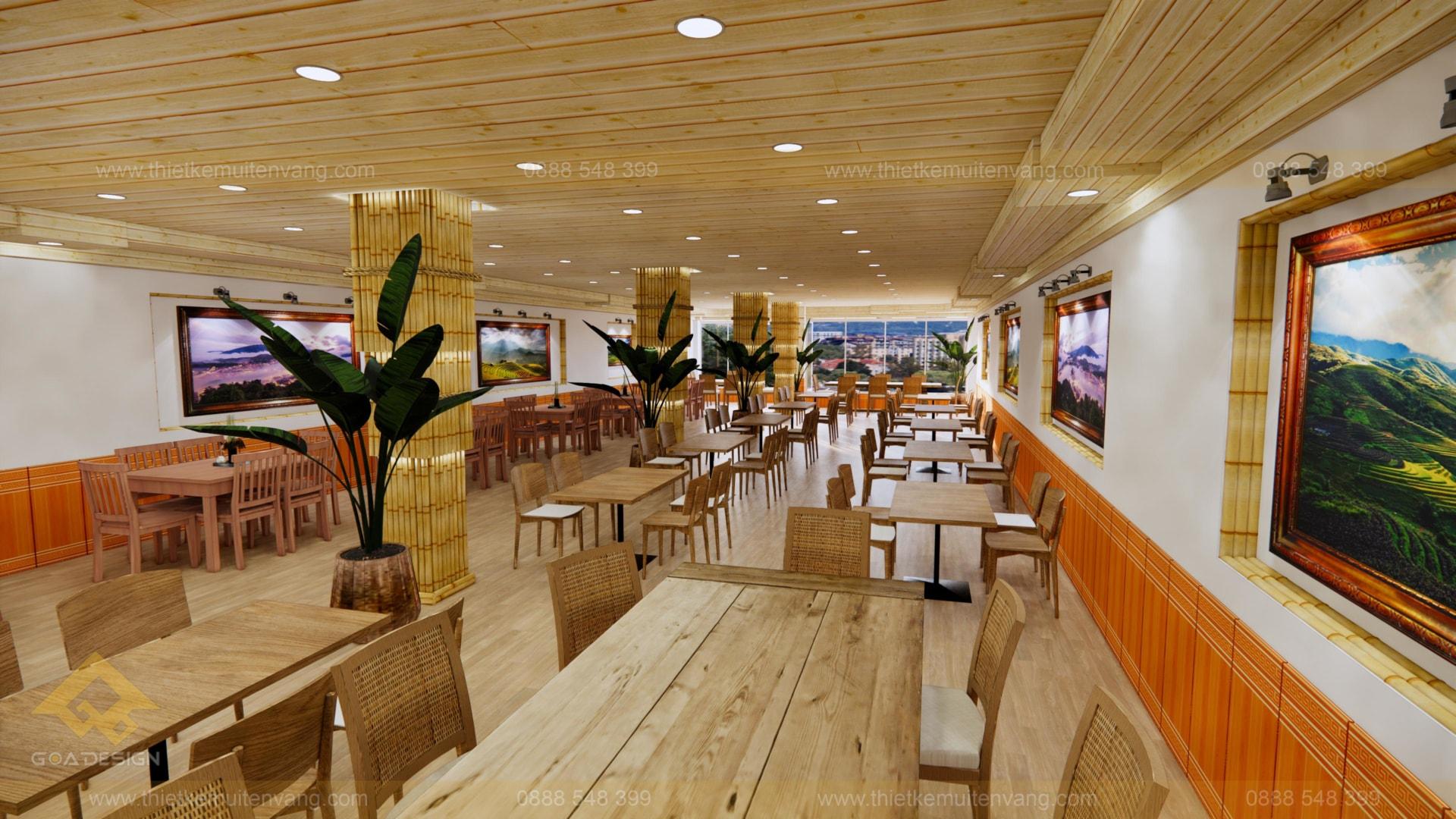 thiết kế nhà nhà hàng sapa 2020 (4)
