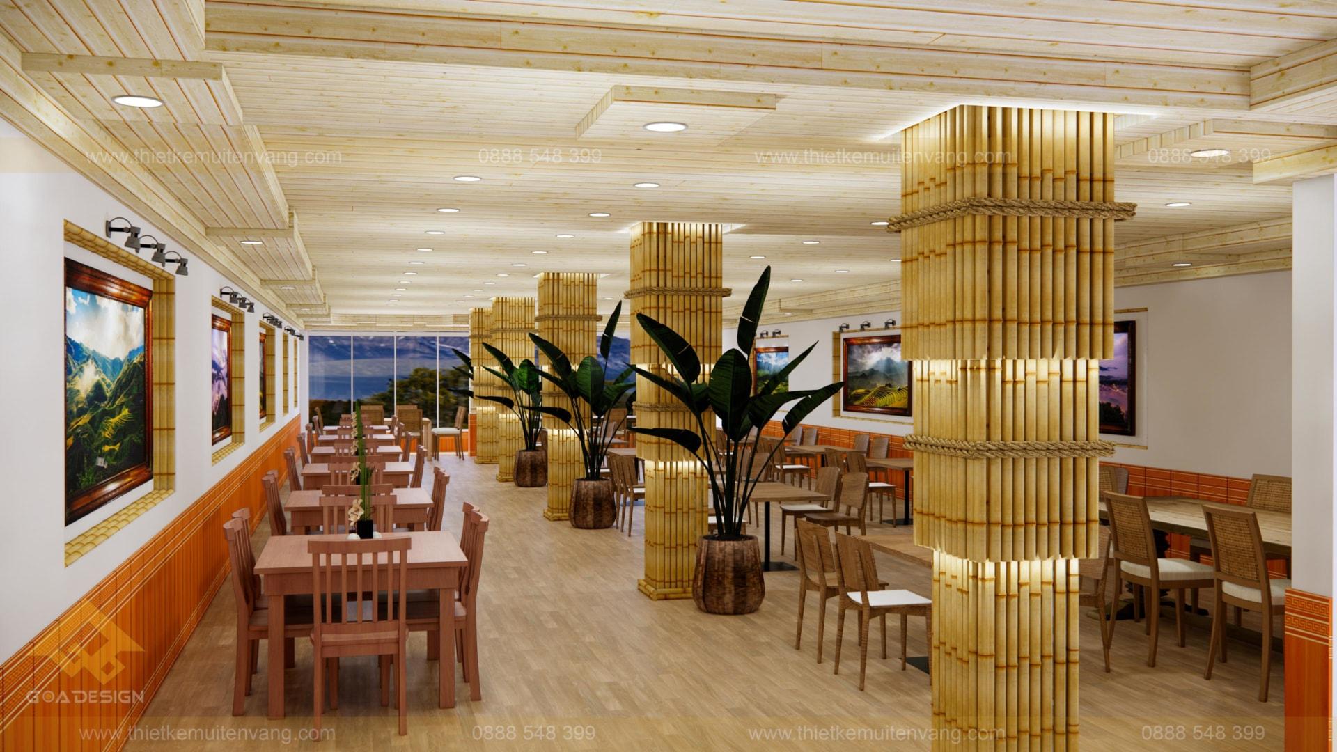 thiết kế nhà nhà hàng sapa 2020 (5)