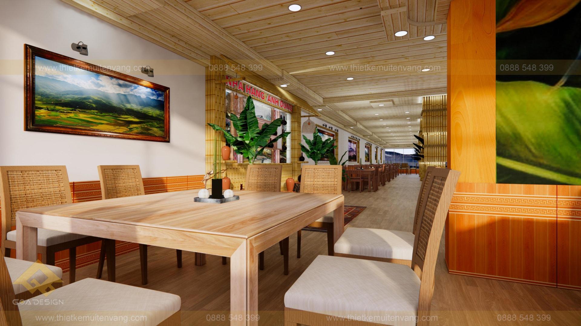 thiết kế nhà nhà hàng sapa 2020 (6)